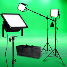 led studio lighting kit 150w led photo video light kit boom black body photographic studio