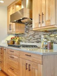 kitchen colors with medium brown cabinets light brown cabinets contemporary kitchen birch cabinet