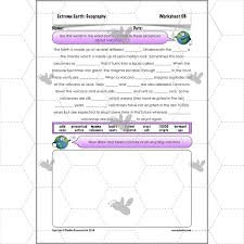 extreme earth volcanoes planbee single lesson plan