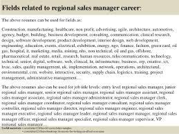 top 5 regional sales manager cover letter samples
