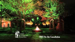 Lentz Landscape Lighting Lentz Landscape Lighting Photo Montage