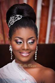 bella naija bridal hair styles nigerian black bride hair makeup inspiration gazmadu photography el