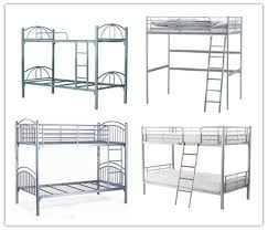 Wholesale Chinese Heavy Duty Steel Easy Assembly Metal Double Bunk - Heavy duty metal bunk beds