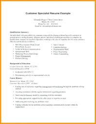general resume summary of qualifications exles for resume professional qualifications exles tolg jcmanagement co