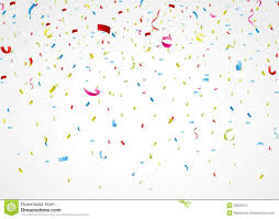 White Background Colorful Confetti On White Background Stock Vector Image 39029370
