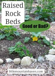 Raised Rock Garden Beds Raised Rock Garden Beds They Re Pretty But Are They Functional