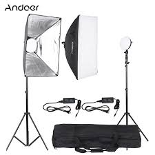 led studio lighting kit andoer led photography studio lighting light kit with 2 30w led