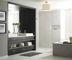 Walnut Bathroom Vanity Modern Walnut Bathroom Vanity Omega Cabinetry
