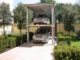 garage car lift home design by larizza garage car lift photos