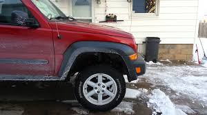 07 jeep liberty daystar 2 5 lift kj youtube