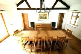 huge dining room table large dining table seats 12 extra long dining table seats large