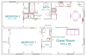 Floor Plans For Handicap Accessible Homes Floor Plan Blueroof Experimental Cottage Joel Solkoff