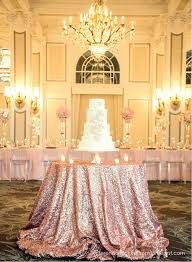 wedding table cloths gold sequin table cloth ready to ship shimmer sparkly