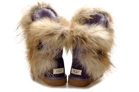 womens fur boots canada ugg fox fur boots 5531