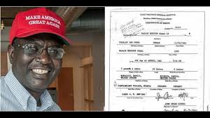 obama s day card wow malik obama releases barack obamas real birth certificate