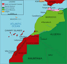 Map Of Spain And Morocco by March 2 U2013 Morocco Declares Its Independence From France Mls