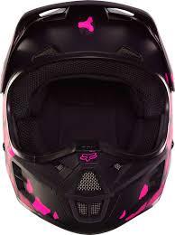 pink motocross helmet fox helmet v1 grav black pink 2017 maciag offroad