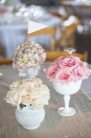 Glass Vases For Weddings 403 Best Milk Glass And Flowers Images On Pinterest Milk Glass