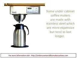 best under cabinet coffee maker bunn under cabinet coffee maker coffee maker commercial coffee maker
