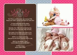 prince princess photo birthday invitation triplets twins siblings