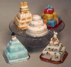 country kitchen sweetart mini wedding cakes