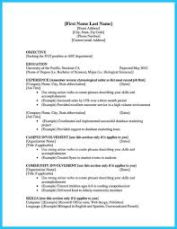 college student resume sles for summer jobs how to make a resume college student musiccityspiritsandcocktail com