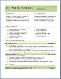 Download Resume Template Word Executive Resume Templates Word Jospar