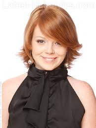 pictures of short layered hairstyles that flip out flip out gorgeous layered auburn style with side flip a modern