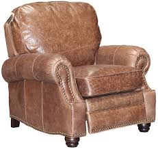 Brown Leather Recliner Chairs Barcalounger Longhorn Ii Leather Recliner Chair Leather Recliner