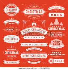 Happy New Year Decorations Vector by Merry Christmas Postcard Ornament Decoration Background Stock