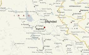 map of bagdad map of baghdad and surrounding areas major tourist