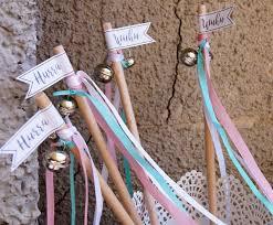 wedding wands wenn s regnet diy wedding wands