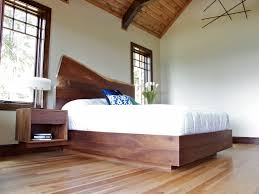 Rustic Platform Bed Rustic Platform Bed Spaces Modern With Bed Custom Made Floating