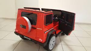 jeep mercedes red mercedes g 65 vip elektromobiliai vaikams