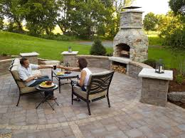 home design backyard patio fireplace ideas farmhouse large