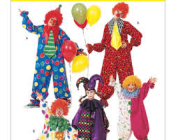 Halloween Costumes Sewing Patterns Jester Costume Etsy