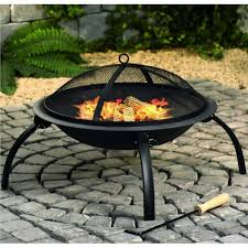 Fire Pit Ring With Grill by Portable Outdoor Fire Pit Ideas Fire Pit Grill Table Design Exterior Decoration Stylish Corner Stones Fire Pit Ring Green Grass Backyards Patio Small Patio