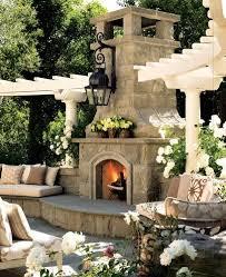 Outdoor Ideas For Backyard Best 25 Outdoor Fireplace Patio Ideas On Pinterest Outdoor