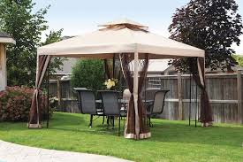Pop Up Gazebos With Netting by Model Hampton Bay Gazebo House Decorations And Furniture