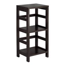 amazon com winsome wood shelf espresso kitchen u0026 dining