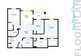 floor plan of windsor castle windsor hills condo rental fantasmic 3br