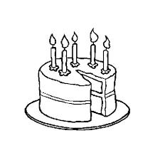 Coloriage Gâteau Anniversaire 5 Ans a Imprimer Gratuit