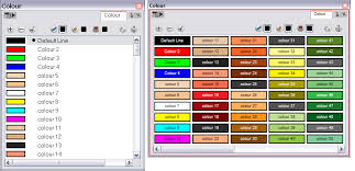 list of colours colour display modes