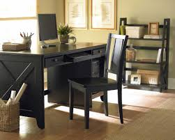 brilliant black home office desk also home decorating ideas with