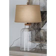 fillable clear glass lamp wayfair