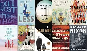 best of 2017 100 recommended books san francisco chronicle