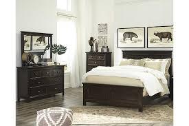 ashley bedroom traditional alexee 5 piece queen bedroom ashley furniture homestore