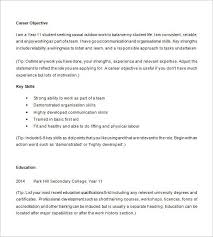Student Resume Templates Free Sample High Student Resume Best Resume Collection