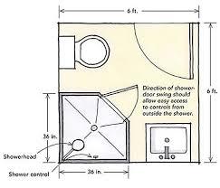 bathroom design layout ideas 6 x 6 bathroom design for exemplary ideas about bathroom design