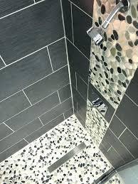 bathroom shower floor ideas river rock bathroom tile shower floor tile impressive best pebble